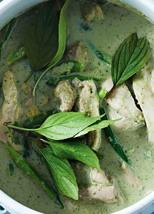 How to make Thai Green Chicken Curry