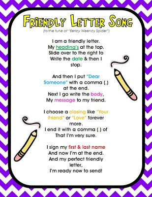 Best Writing A Friendly Letter Images On   Friendly