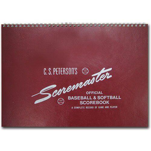 Rawlings Scoremaster Baseball & Softball Scorebook | BaseballSavings.com