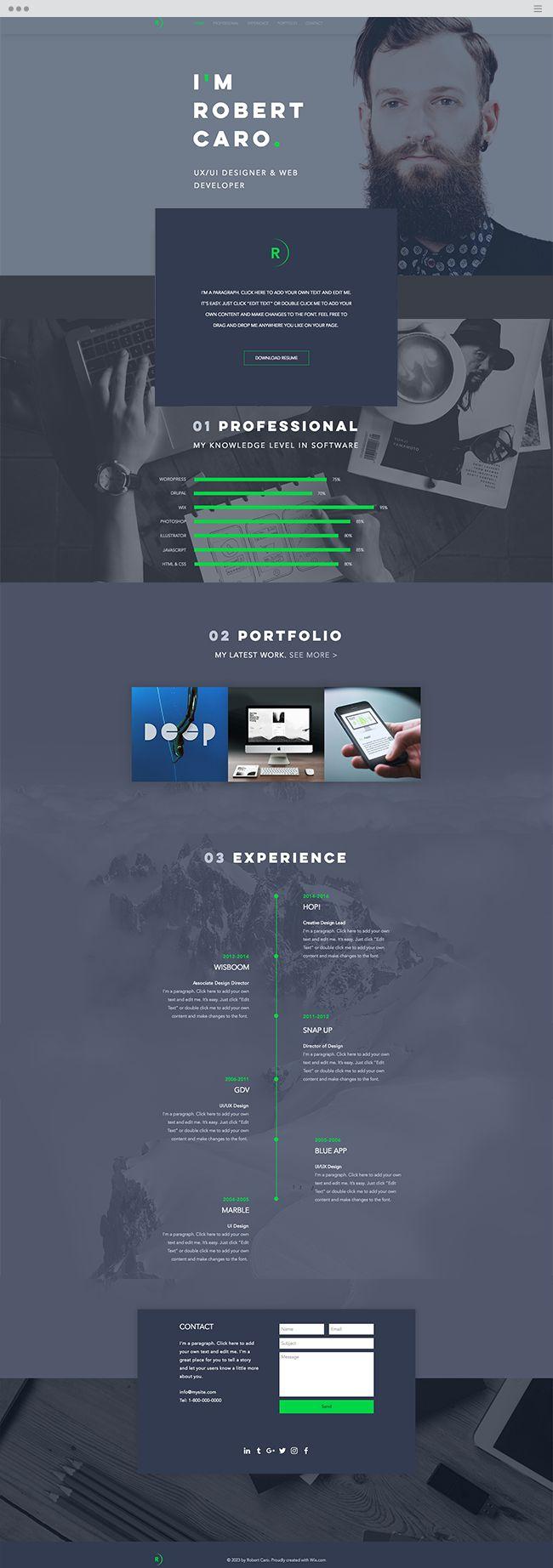 the 25 best web designer resume ideas on pinterest curriculum