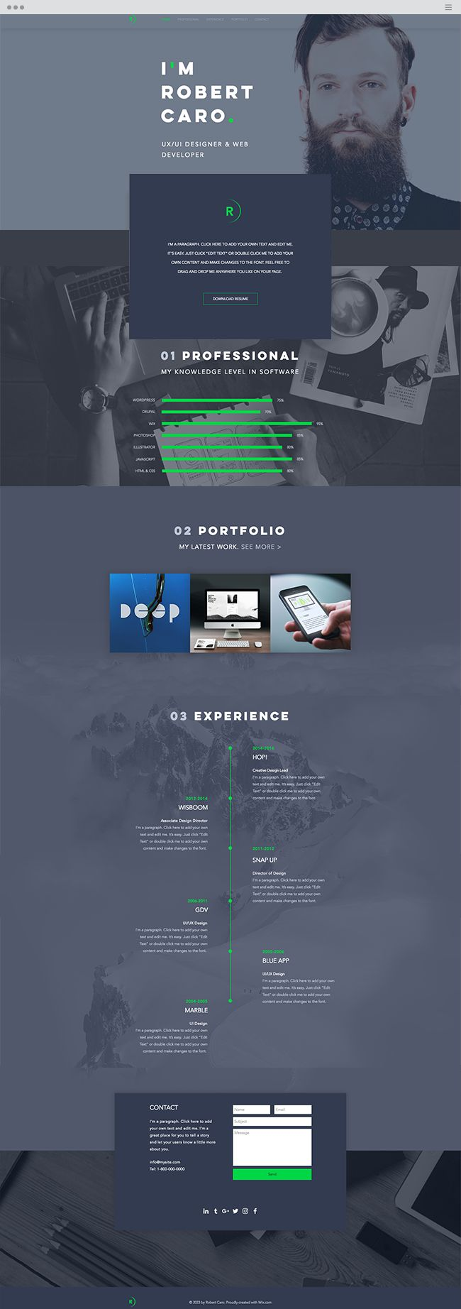 589 best images about wix website templates on pinterest