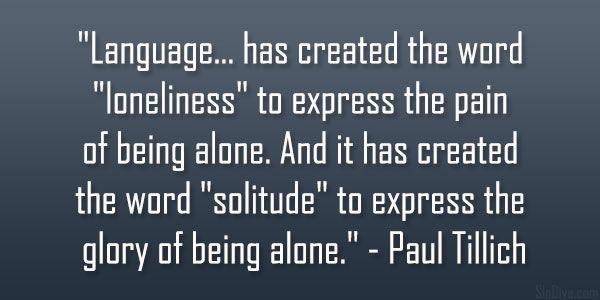 Paul Tillich Quote