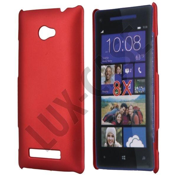 Rød HTC 8X Deksel