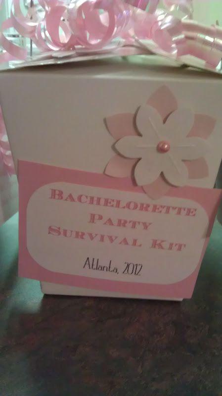 Bachelorette Party Survival Kits :  wedding arlington bachelorette party favors