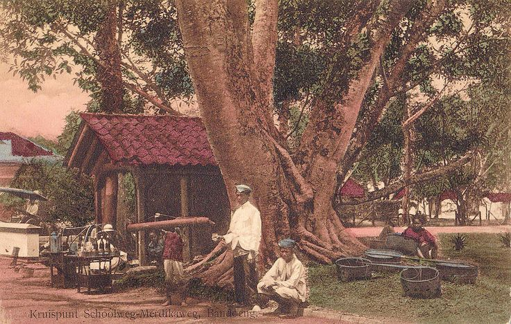 Tempo Doeloe #78 - Bandung, Persimpangan Jalan Sekolah & Jalan Merdika, 1915