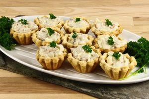 Tarteletter med høns i asparges 4