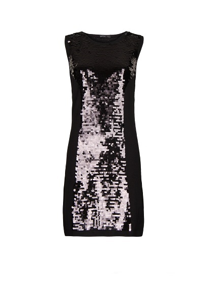 MANGO - Sequined bodycon dress