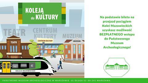 Koleją do kultury!   #koleje #Mazowsze #PMA