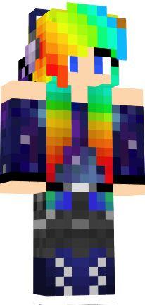minecraft cat skins | Nyan Cat Girl
