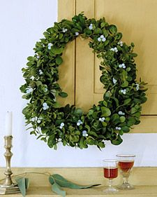 Wreath. Martha Stewart