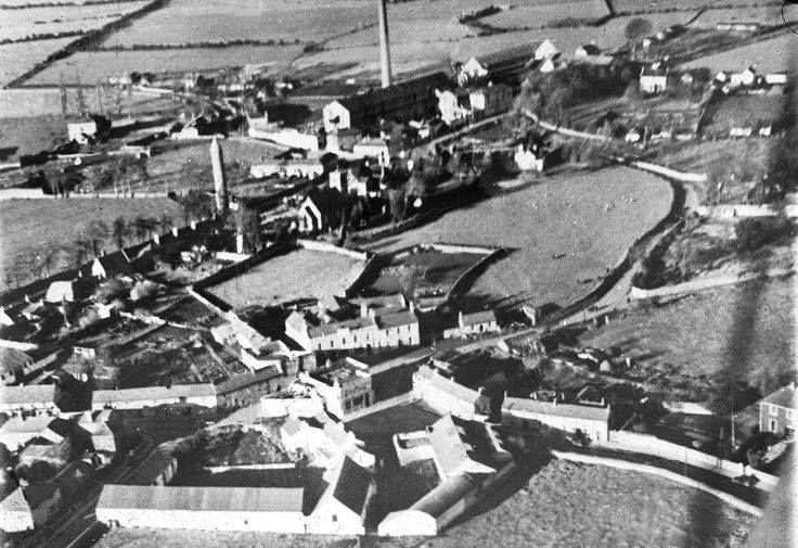 Aerial view of Clondalkin in the 1930