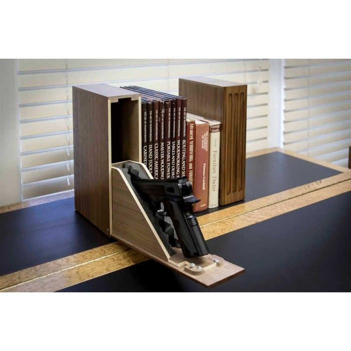 0300P - Bookend Hide-A-Way - Pair