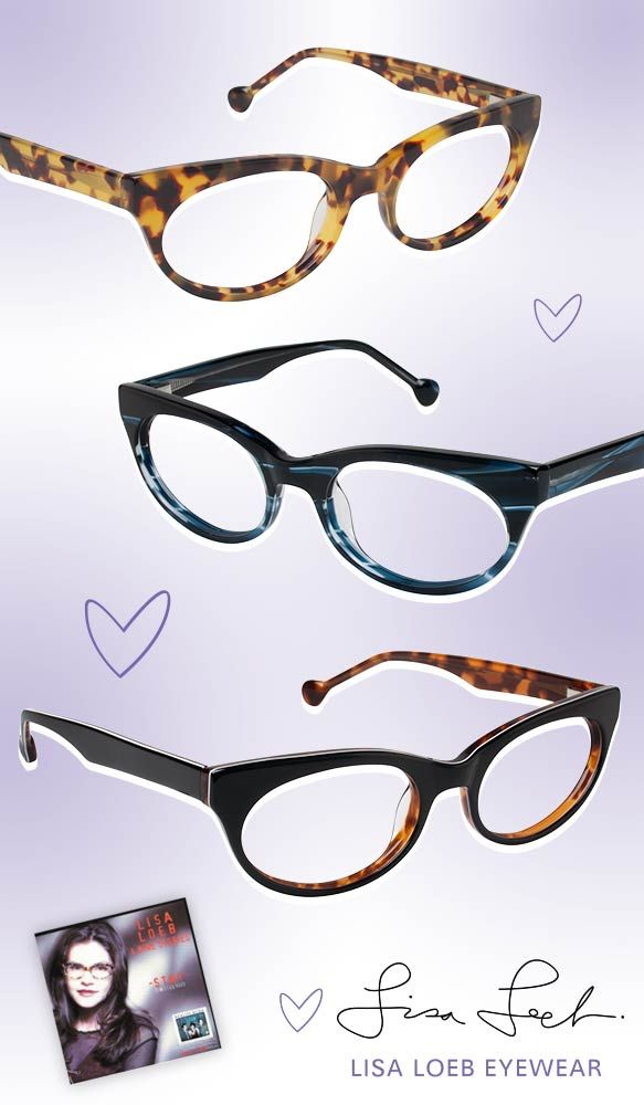 Tuning into the '90s with Lisa Loeb Eyewear