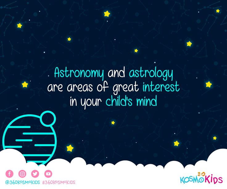 #Astronomy and #astrology are important in your children's life. Discover why with #360KosmoKids