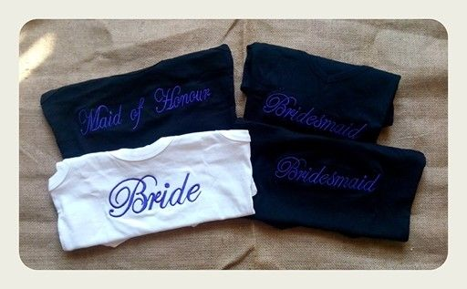 Bridal t-shirts