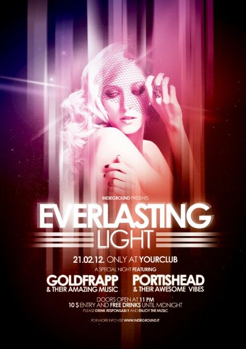 12 Best Nightclub Flyers Images On Pinterest Design Posters