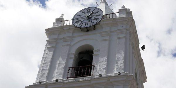 Las campanas de San Francisco vuelven a sonar. El trabajo estuvo a cargo de relojeros, restauradores y campaneros. En Bogotá hay unos 34 relojes en el espacio público.