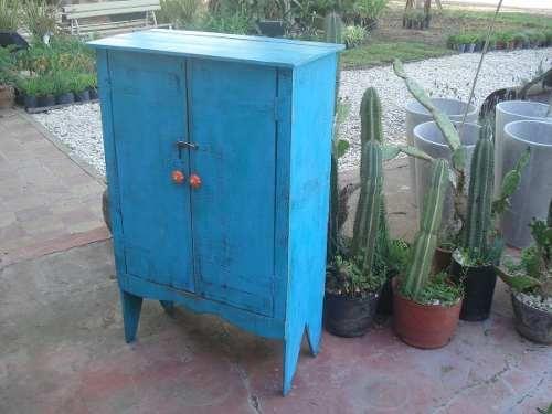 Campo chico petit mueble rustico realizado con maderas - Muebles rusticos de campo ...