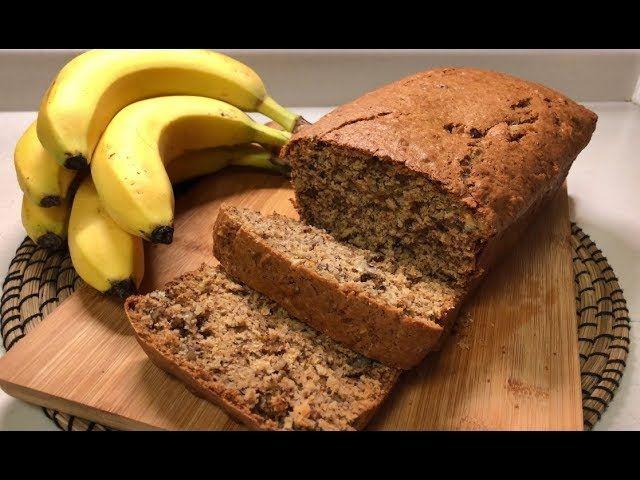Banana Cake بأسهل الطرق كيك الموز الشهي Food Desserts Banana Bread