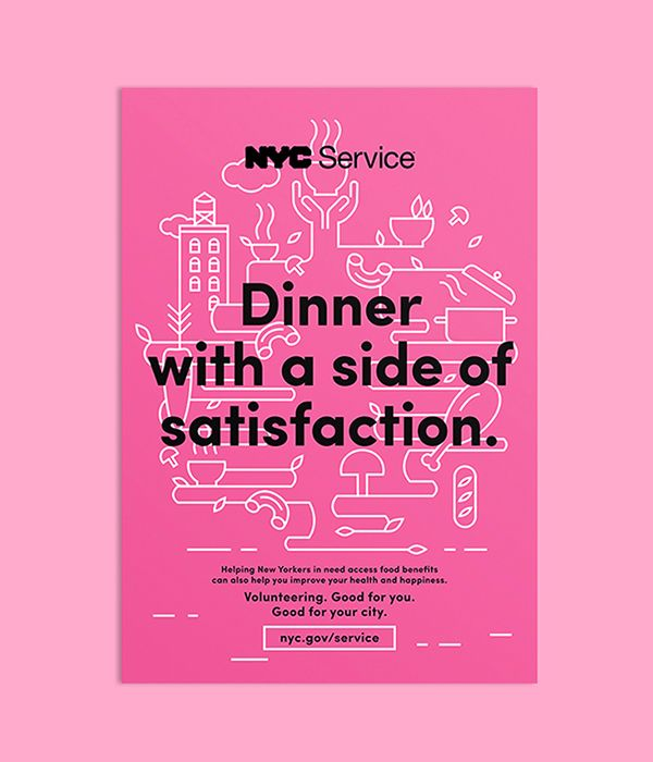 NYC Service Poster Campaign on Advertising Served