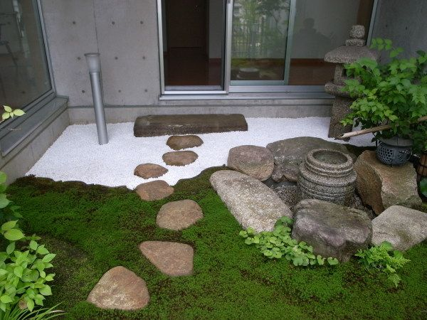 Wonderful An Inviting Entry To A Small Japanese Garden.