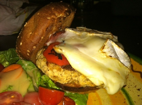 Chickpea burger, Brie and Chickpeas on Pinterest