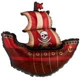 "Pirate Party Supplies - Ship JUMBO Foil 40"" Party Supplies Canada - Open A Party"