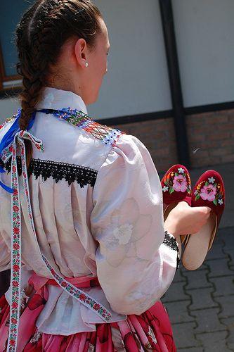 Hungaran folk costume