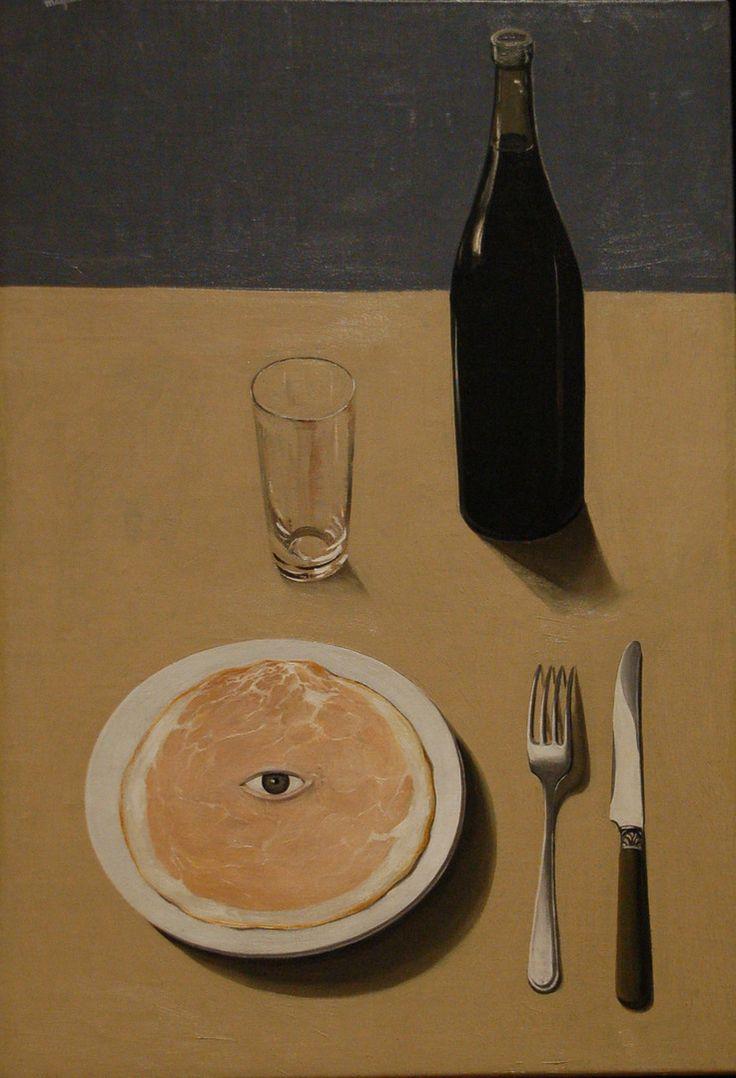 Le portrait, René Magritte - Bruxelles, 1935. Museum of Modern Art, New York