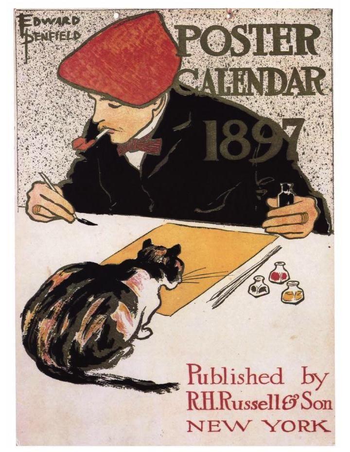 1000 ideas about cat posters on pinterest cat art for Miroir art nouveau
