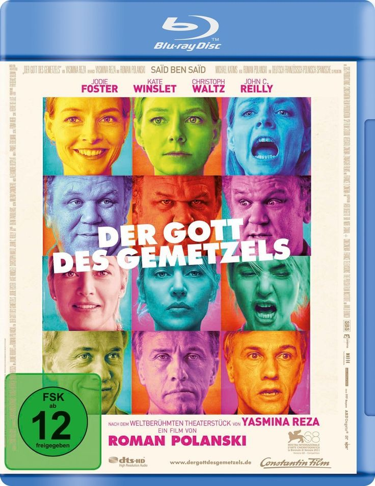 Der Gott des Gemetzels [Blu-ray]: Amazon.de: Jodie Foster, John C. Reilly, Kate Winslet, Christoph Waltz, Roman Polanski: DVD & Blu-ray
