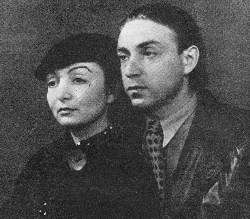 1930's Germany | Margit Anna and Imre Ámos, Her Husband (1907~1944/45) | He  was elected to be a member of the New Society of Artists, and spent his summers in Szentendre and worked there. He visited Paris in 1937 where he met Chagall. Ámos became a member of the National Salon in 1938. In 1940 he was taken to labour camp in Vojvodina, then to the battle field in the east, and in 1944 he was deported to Germany, where he died, probably in a concentration camp in Saxony...
