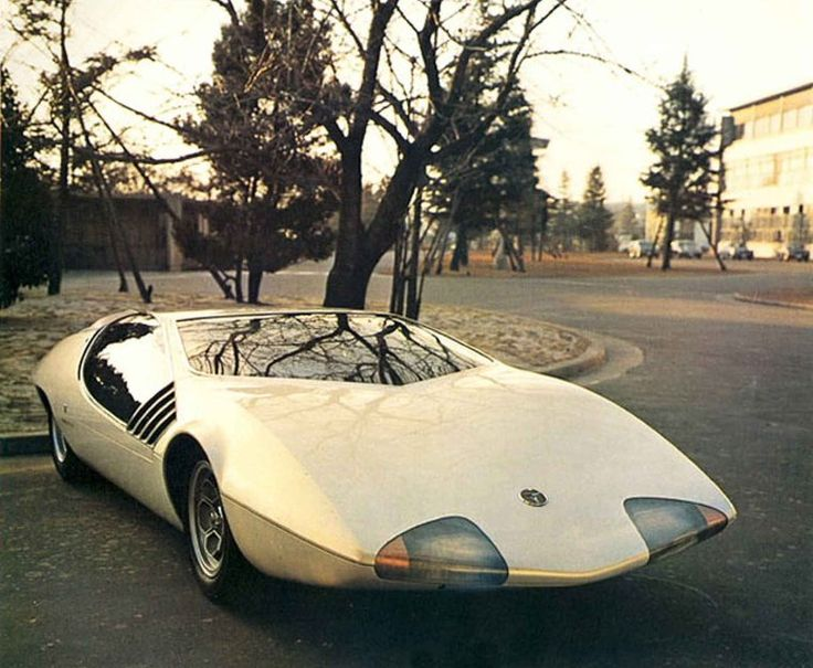 Toyota EX III, 1969. Vintage Concept CarsFuture ...