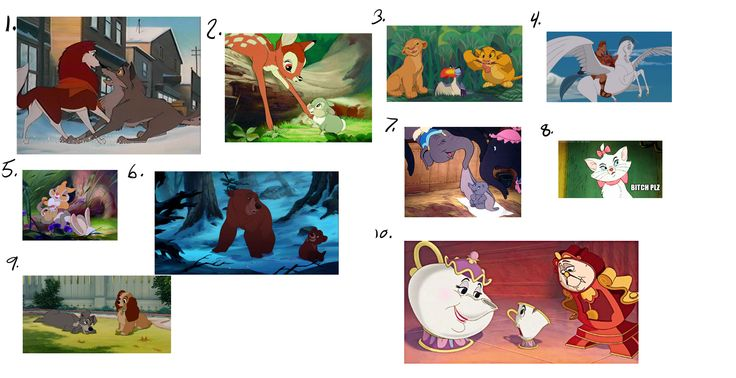 "Done for lesson 6 ""extrapolation"" find 10 movies that extrapolated animals/inanimate objects to mimic human emotions."