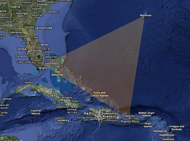 the mysterious waters of the bermuda triangle The classic borders of the bermuda triangle are from bermuda to miami, florida to san juan, puerto rico most of the mysterious disasters have occurred in its southern region from the florida straits into the bahamas.