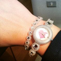 A #Stroili #SOFunny watch to let your #girlfriend wear your #heart on her wrist.