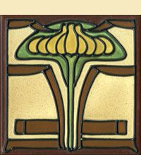 Tiles – The Arts & Clay Company  Arts Craft Tile Egret