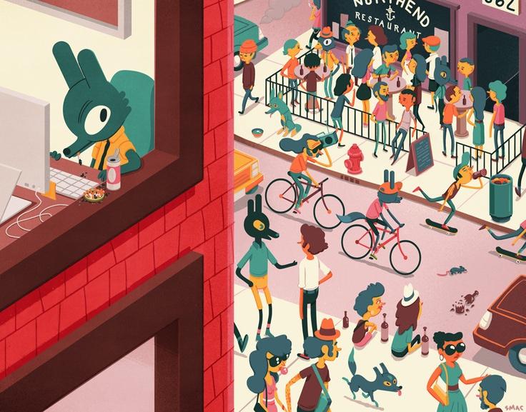 Scott McDonald #illustration