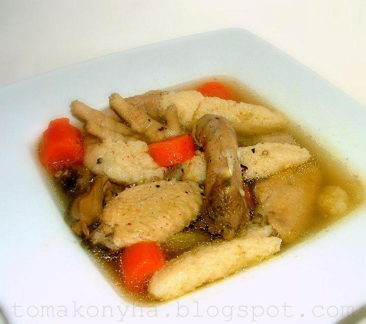 Tomakonyha: Családi receptek - Csirkehúsleves a léleknek