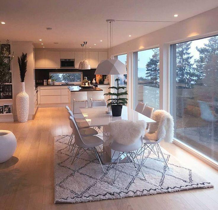 Küche + Esszimmer – Home – #esszimmer #Home #K…