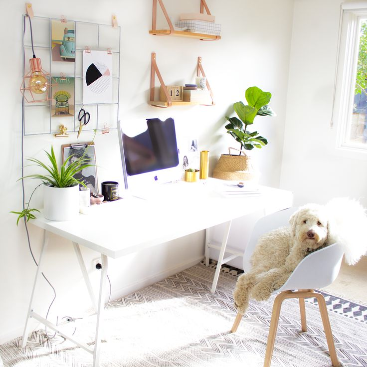 I have been meaning to update my office FOREVER and I have been a long-time fan of the wire mood boards I have seen in Scandinavian homes the past few years so