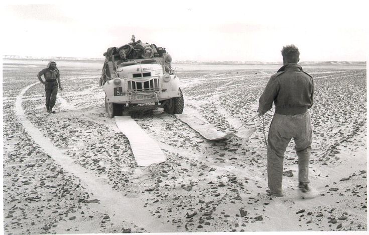 The LRDG used a combination of vehicle types as needs and availability allowed but their preferred mode of transport was stripped down Chevy trucks