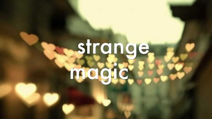 Electric Light Orchestra - Strange Magic (w/ lyrics)
