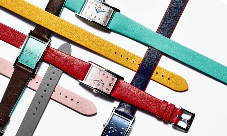 Новые ремешки для часов Tiffany EastWest Mini