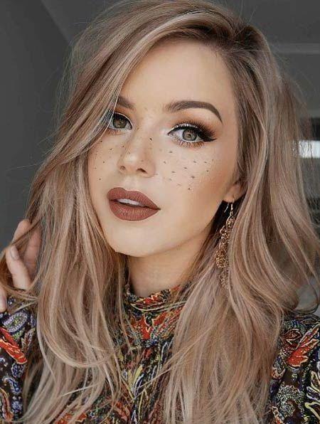 Moderne Haarfarben 2018 Ombre Haareombre Frisuren Halblang