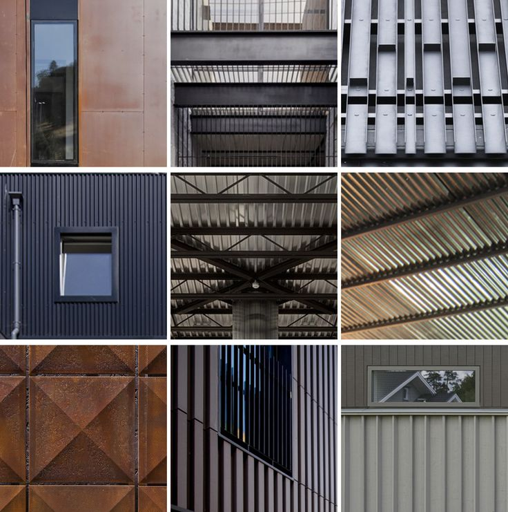 15 Details of Metal Structures and Facades for Residential Projects