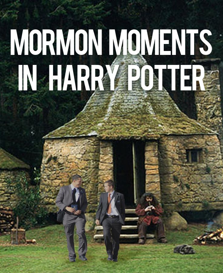 Ever wanted to know what Harry Potter and Mormons have in common? Check out these awesome gifs/memes!