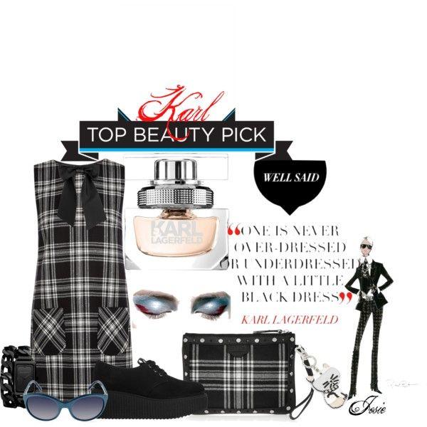 """Karl Lagerfeld Parfum"" by josiriou on Polyvore"
