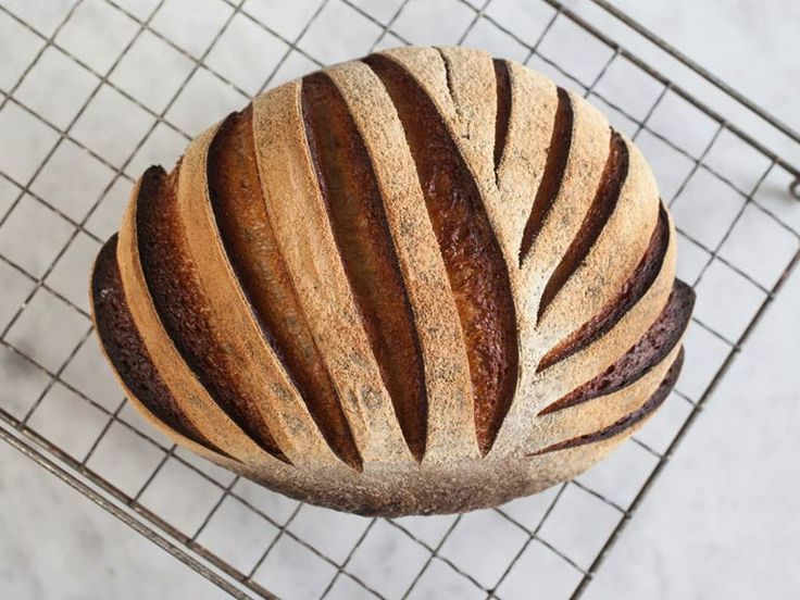 Try this recipe for maslin, a traditional sourdough loaf of bread made from rye and wheat flour.