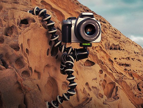 Holiday Tech Gifts: GorillaPod tripod for DLSR. Make me a better photographer and I want to be one now